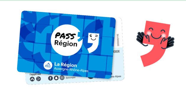 Le nouveau Pass'Région 2018-2019 est arrivé!!!!
