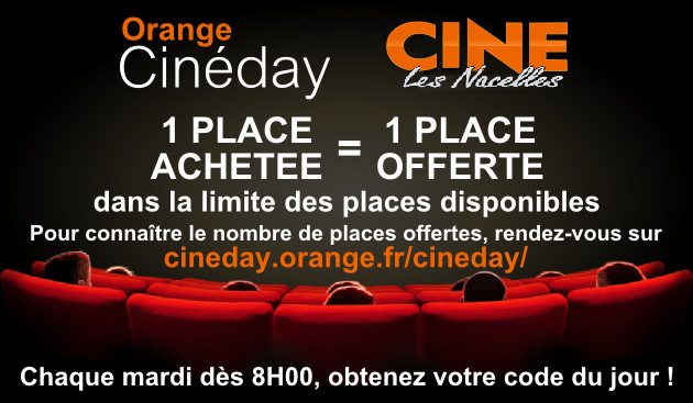 ORANGE CINEDAY !!!